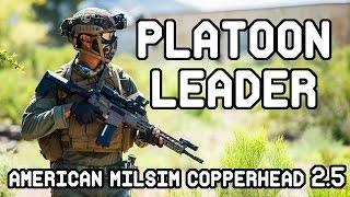 American Milsim Copperhead 2.5: Platoon Leader (Krytac SPR MK2)