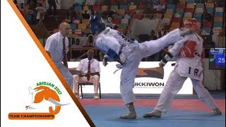 [Semi-Final] Male Team | Korea vs. Iran | 2017 World Taekwondo Team Championships