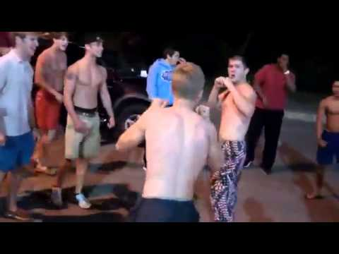 Skinny Kid Owns In Amateur MMA Parking Lot Fight