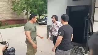 Узбек кино ишлаш жарайонида жанжал