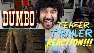 DUMBO Official Teaser TRAILER REACTION & REVIEW!!!