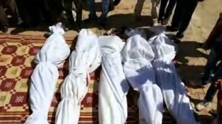 درعا الصنمين المكتب الاعلامي وصول جثث أفراد كتيبة...