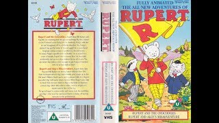 The All New Adventures of Rupert: The Crocodiles/Algy's Misadventure (1991 UK VHS)