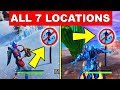 Dance in Different Forbidden Locations – ALL 7 LOCATIONS WEEK 1 CHALLENGES FORTNITE SEASON 7