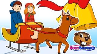 """Jingle Bells"" | Busy Beavers Christmas Song, Babies, Toddlers, Preschool Sing-Along"