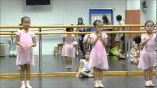Shannon's Ballet RAD Primary Exam practice session