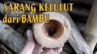 Membuat Sarang Pemancing Lebah Kelulut Dari Bambu