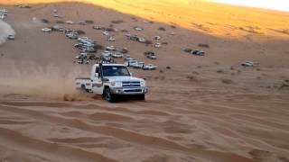 المتعه الاثاره في تحدي الرمال سيارات دفع الرباعي 4×4