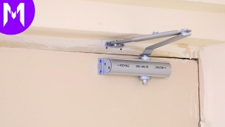 How to Install Automatic Door Closer
