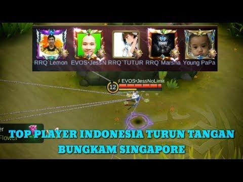 Keren Squad RRQ Duet bareng EVOS Hadapi SINGAPORE Di ||Kontes Arena|| MLBB