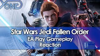 Reacting To Star Wars Jedi Fallen Order EA Play Gameplay
