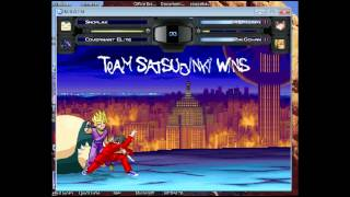 Stargazer1331 Random Mugen Battle #117: Snorlax & Covernant Elite vs. Satsujinki & Son Gohan