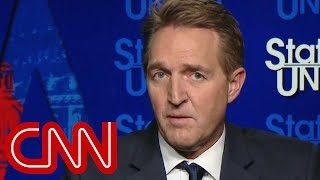 Jeff Flake hopes GOP colleagues will defend Mueller
