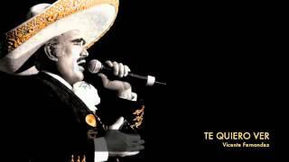 Vicente Fernandez - Te Quiero Ver