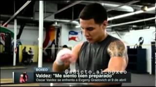 Entrevista Exclusiva con Óscar Valdez