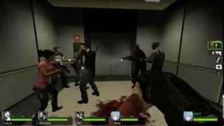 Left 4 Dead 2 - No Mercy's Elevator Strikes back