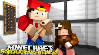 Minecraft Adventure - LITTLE ROPO DELIVERS A BABY!!