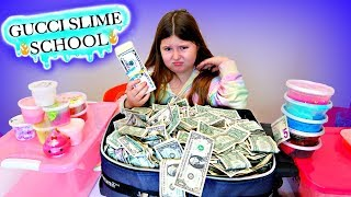 GUCCI SLIME SCHOOL ~ Life of a Slime Scammer Funny Slime Skit!