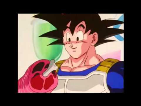 Goku se quema