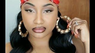 Nicki Minaj Senile Music Video Makeup Tutorial | Jaz Jackson