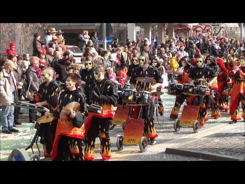 Monthey Carnaval 2011 le cortège