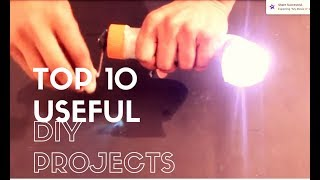 Top 10 Useful and Simple Electronics Projects 2017