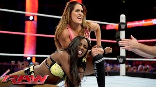 Naomi vs. Nikki Bella: Raw, October 12, 2015