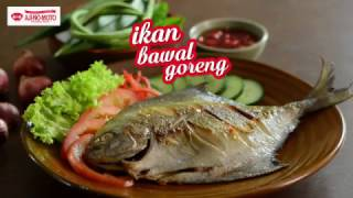 Tasty Treat: Ikan Bawal Goreng / Fried Pomfret Fish