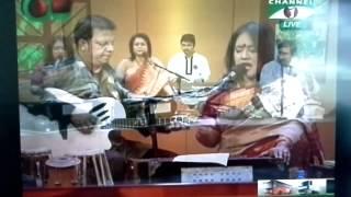 Gane gane shokal shuru (Bannaya Di and Bidisha)- 23rd December 2014