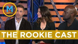 Sitting down with the cast of 'The Rookie'