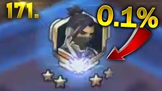 WHAT HANZO 0.1% SHOT LOOKS LIKE.. | OVERWATCH Daily Moments Ep. 171 (Funny and Random Moments)