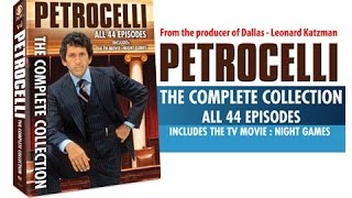 Petrocelli - The Complete Collection - ALL 2 SEASONS, 44 EPISODES + MOVIE