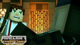 FIGHTING FOR FOOD!!!!   Minecraft : Story Mode Season 2   Episode 3 [2]