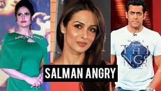 Salman Khan ANGRY On Zarine Khan, Courtesy Malaika Arora