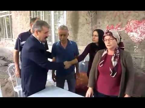 BBP Genel Başkanı Mustafa Destici Eskişehir Şehit Evi Ziyaret