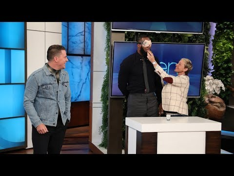 LeBron James & Channing Tatum Do Ridiculous Dares for the I Promise School