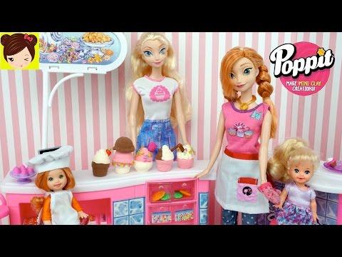 Xxx Mp4 Las Bebes De Elsa Y Ana Ayudan En La Tienda De Helados De Arcilla POPPIT Juguete 3gp Sex