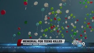 Cienega High holds memorial for two students killed in car crash