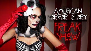 American Horror Story FreakShow Makeup Tutorial
