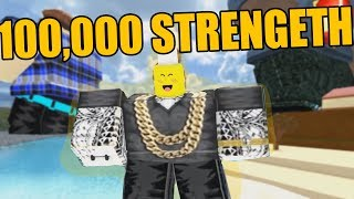 EVERYONE HAS 100,000+ STRENGTH!!! (Roblox Weight Lifting)