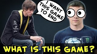 Dendi trash talk vs Arteezy trash talk — what is this game?