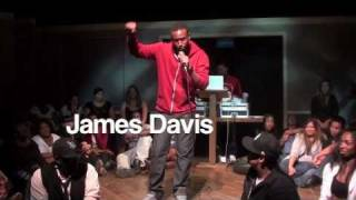 James Davis on being broke