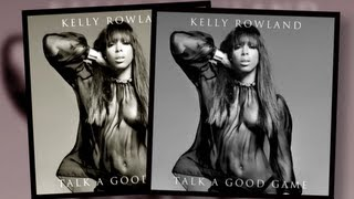 Kelly Rowland Rocks Naked Bod on New Album Cover