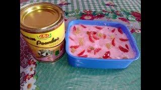 আইসক্রিম পাউডার দিয়ে আইসক্রিম বানানোর রেসিপি/Make Ice ceam with Ice cream Powder.