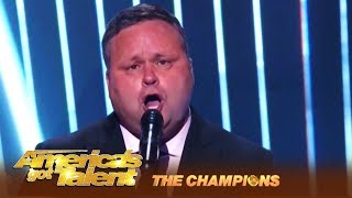 Paul Potts: Britain's Got Talent's First Winner WOWS America!   America's Got Talent: Champions
