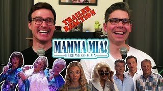 Mamma Mia! Here We Go Again Official Trailer REACTION!!!