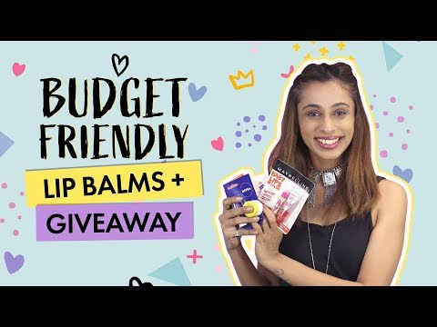 Xxx Mp4 Budget Friendly Lip Balms Giveaway Contest Beauty Pinkvilla 3gp Sex