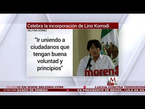 Xxx Mp4 Morena No Es Un Banco Dice Delfina Gómez A Lino Korrodi 3gp Sex
