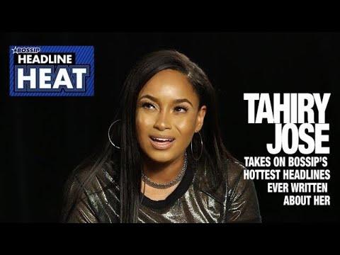 Xxx Mp4 Headline Heat Pilot Tahiry Jose Takes On BOSSIP'S Hottest Headlines Ever Written About Her 3gp Sex