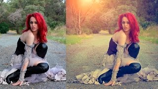 vintage soft light effect | photoshop tutorial cs6